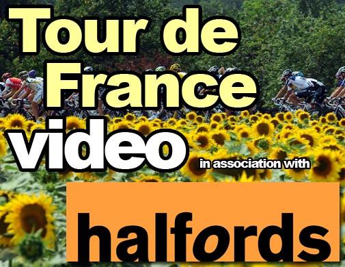 Tour de France video logo
