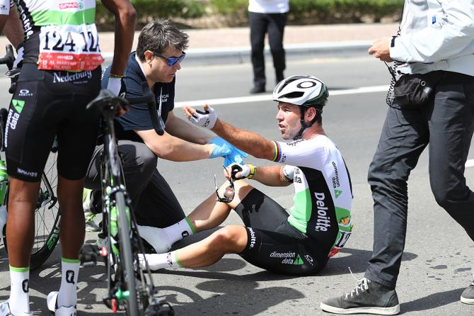 Mark Cavendish makes his complaints