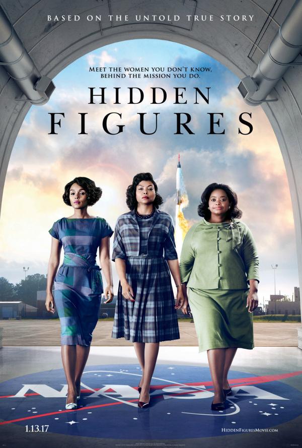 Hidden Figures one sheet