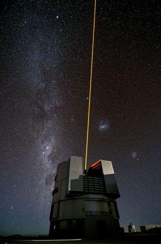 Hunt for Intelligent Aliens Focuses on Faint Laser Flashes