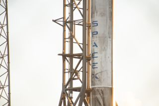 Block 5 falcon booster