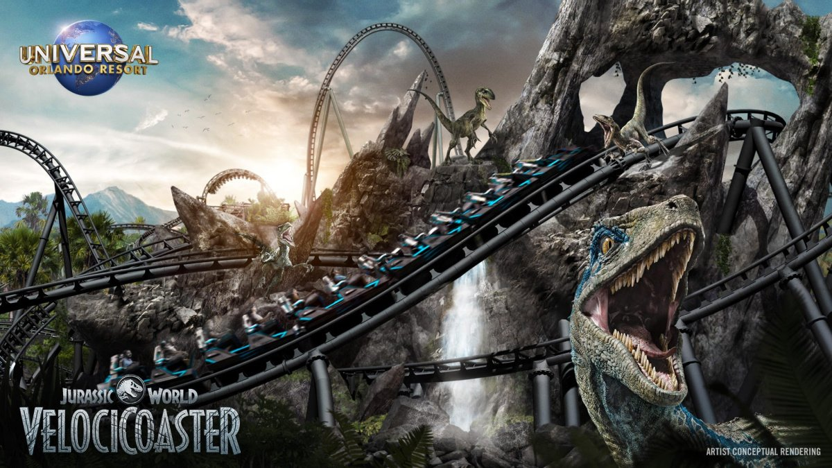 The promo piece for the new coaster.