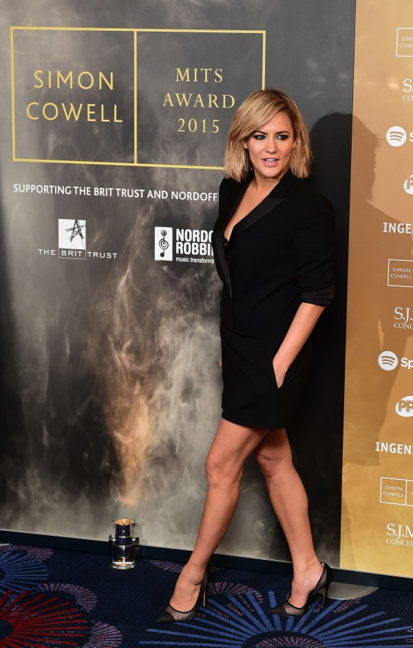 Caroline Flack attending the Music Industry Trusts Award (MITS) in aid of charities Nordon Robbins and Brit Trust at the Grosvenor House Hotel