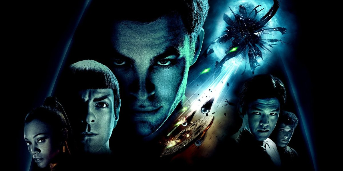 Star Trek cast and ships look colorful on the poster