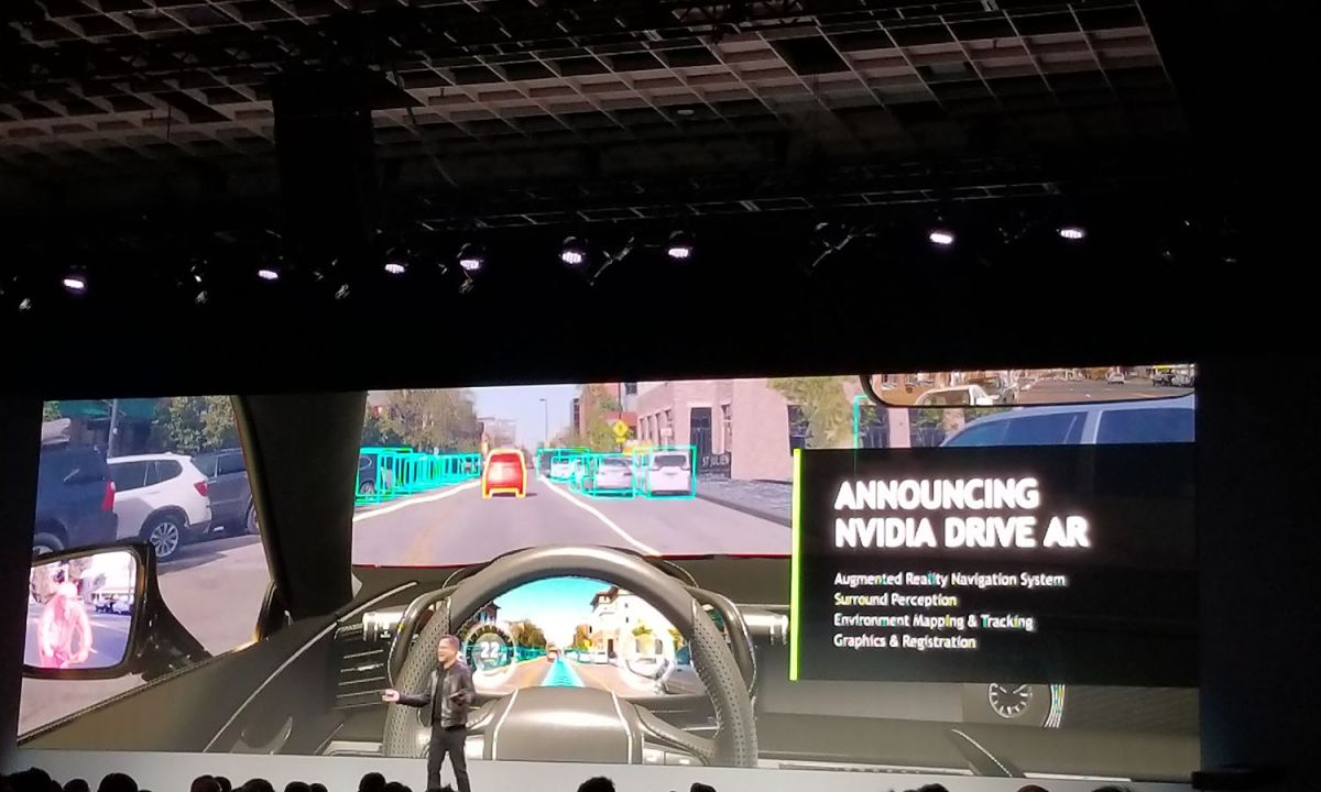 Nvidia Working On Self-Driving Ubers, AR Driving and More