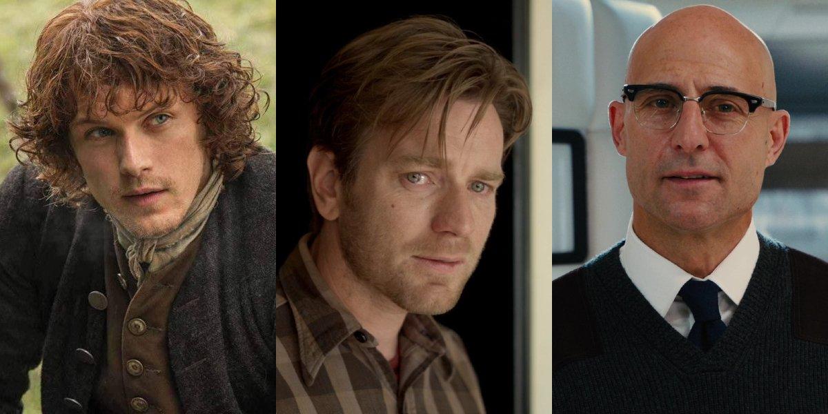 Sam Heughan on Outlander, Ewan McGregor in Beginners, Mark Strong in Kingsman: The Secret Service