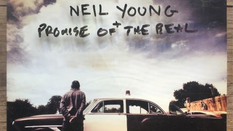Cover art for Neil Young + Promise Of The Real - The Visitor album