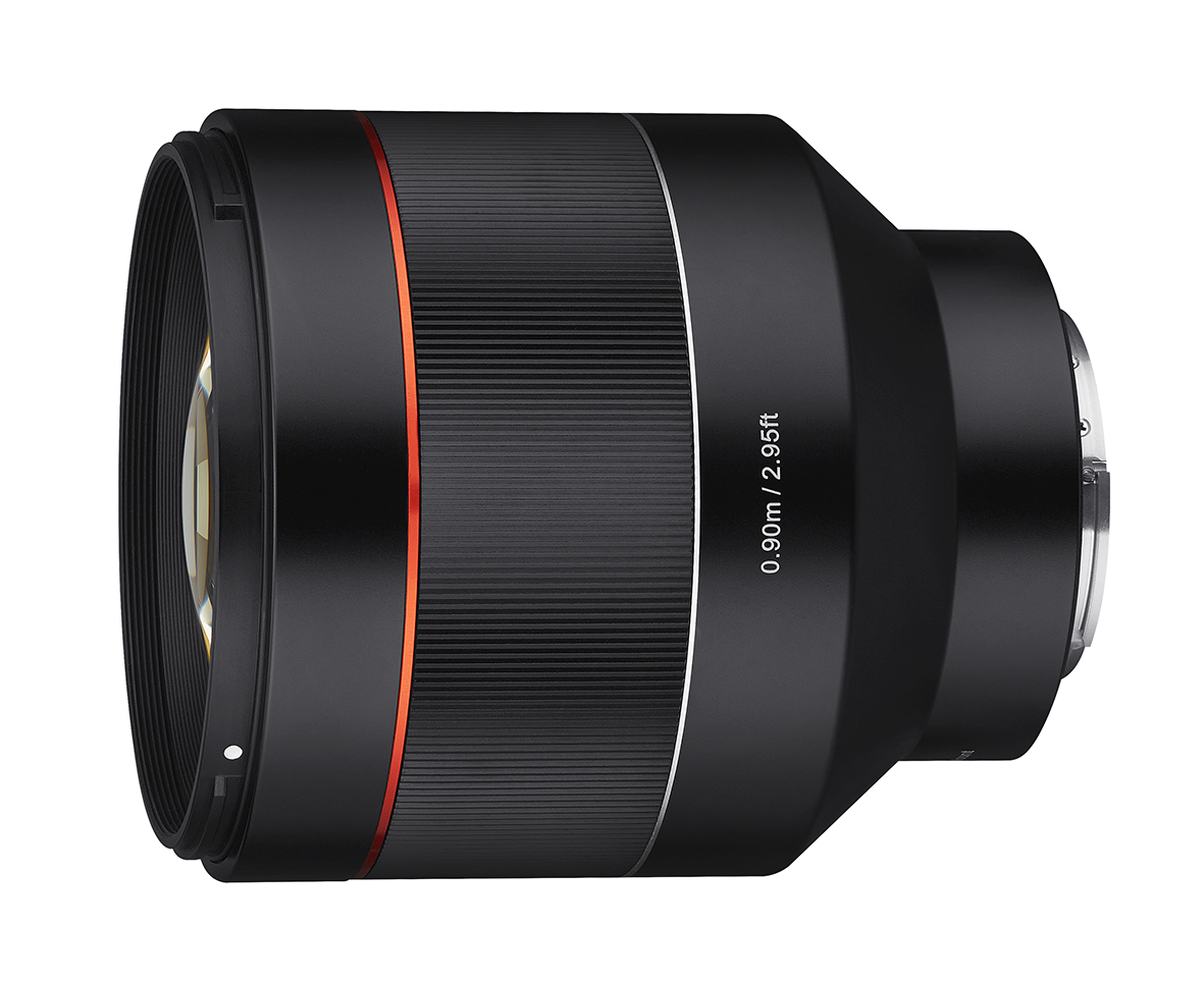 Samyang AF 85mm f/1.4 FE brings big bokeh to Sony mirrorless cameras