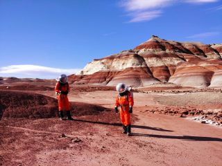 On a Simulated Mars, Botanist Wants to Bring Some Green to the Red Planet