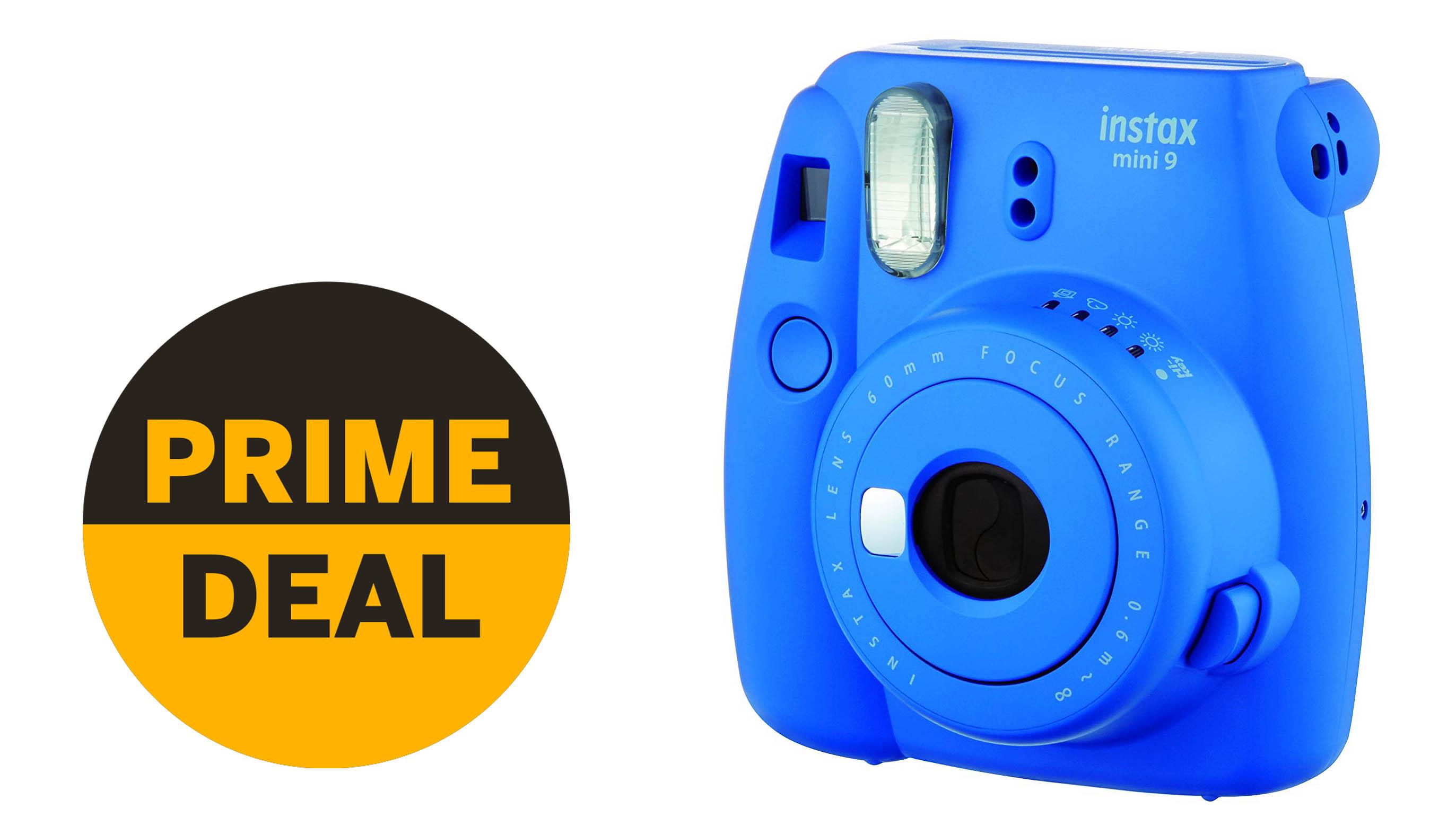Prime Day deal: Fujifilm instax Mini 9 in Cobalt blue drops to just £44.99 | Digital Camera World