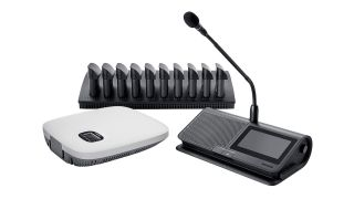 Shure has begun shipping its Microflex Complete Wireless (MXCW) Conferencing System.