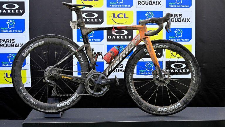 Sonny Colbrelli's Paris-Roubaix bike