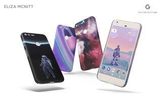 google mcnitt astronaut phone case