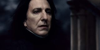 Alan Rickman as Severus Snape in Harry Potter and the Half-Blood Prince