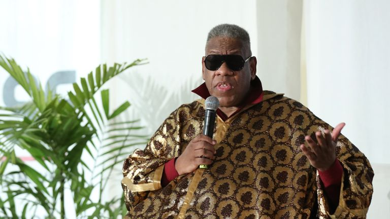 LAGOS, NIGERIA - APRIL 20:Fashion journalist André Leon Talley attends Arise Fashion Week on April 20, 2019 in Lagos, Nigeria. (Photo by Bennett Raglin/Getty Images,)