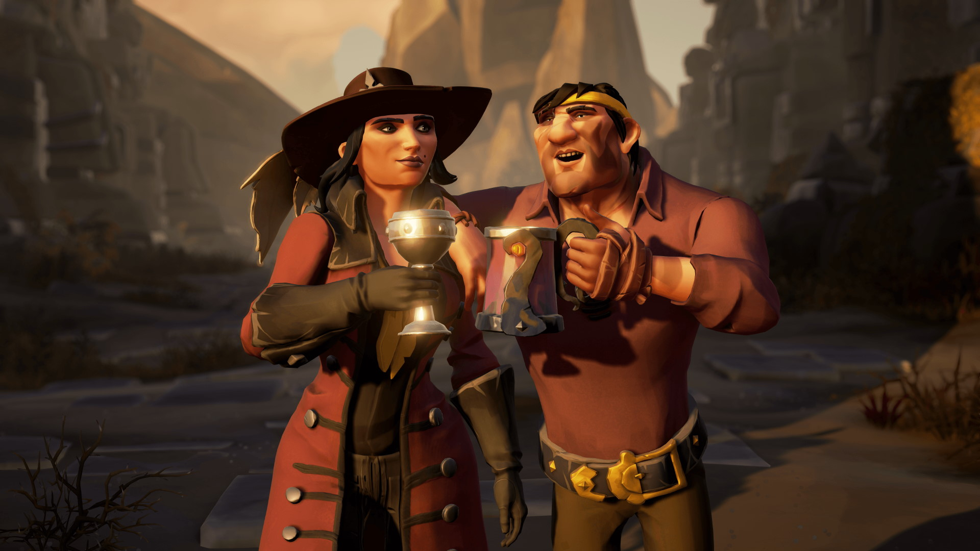 Two Sea of Thieves players became Pirate Legends in a single day without getting sunk
