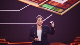 AMD 3D chiplets