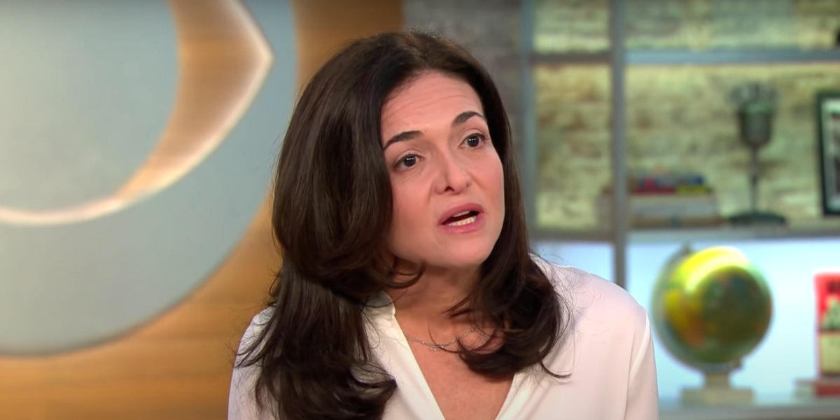 Sheryl Sandberg on CBS This Morning