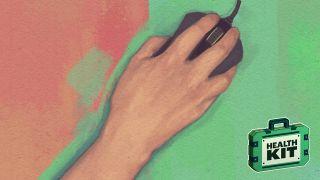 Hand illustration.
