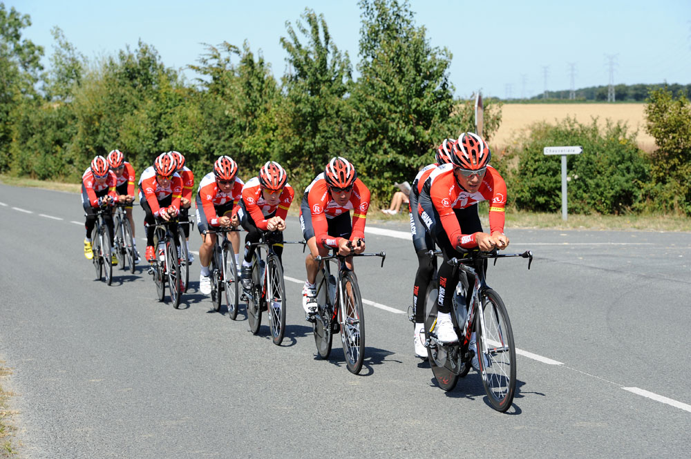 Radioshack, Tour de France 2011, team time trial training