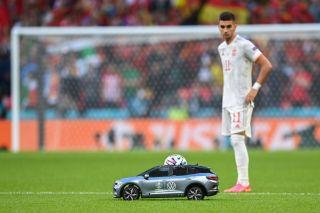 Tiny football car, Euro 2020