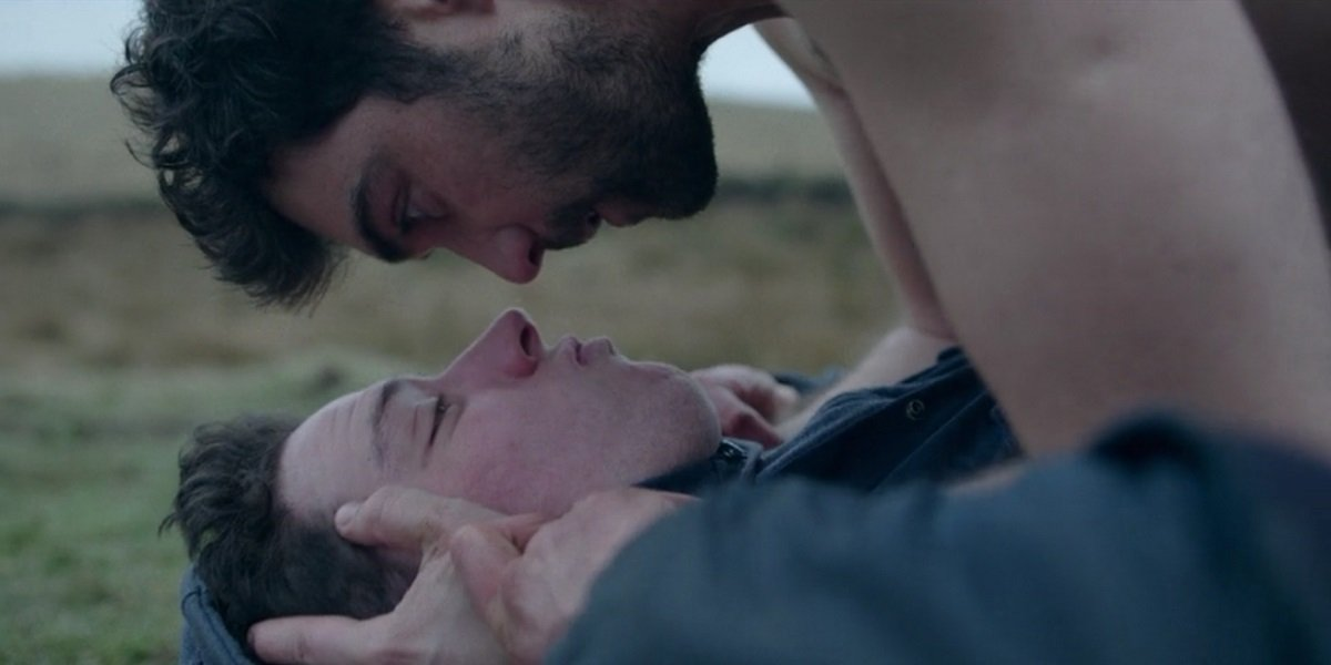 Josh O'Connor and Alex Secareanu in God's Own Country