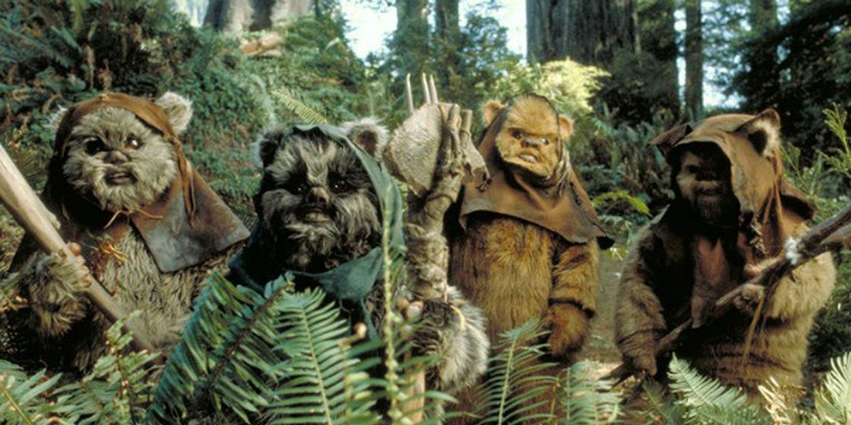 The Ewoks really know how to rock