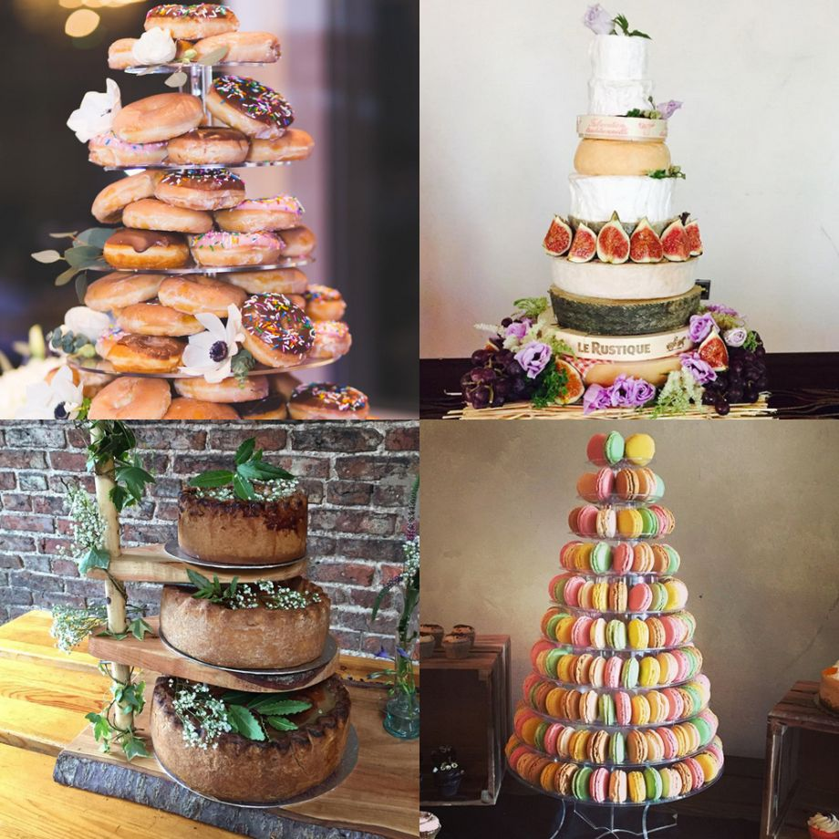 9 unique wedding cakes to wow your guests unique wedding cakes junglespirit Gallery