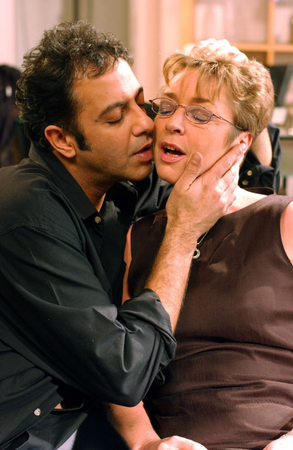 Dev and Deirdre's night of passion in Coronation Street
