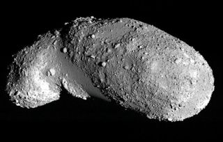 Asteroid Jiggles Like a Jar of Mixed Nuts