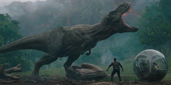 volcano in Jurassic World: Fallen Kingdom