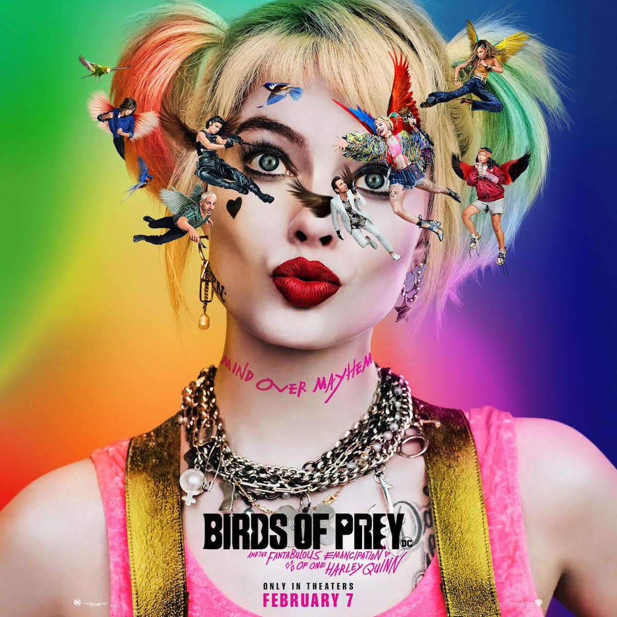 The Birds of Prey poster