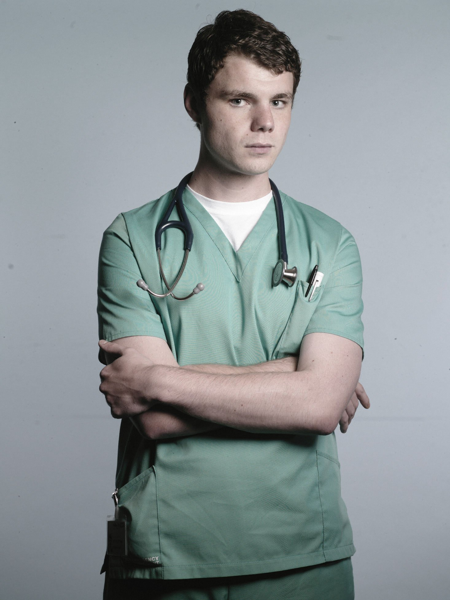 New doctor Toby struggles on his first day