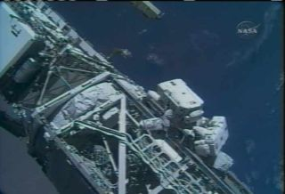 Spacewalk Sets Stage for ISS Solar Array Deployment