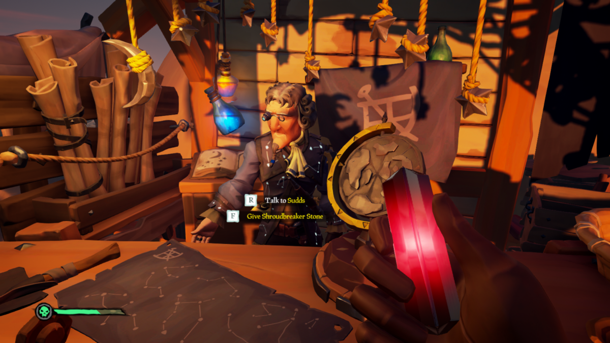 Sea of Thieves Stars of a Thief: How to complete the fourth Tall Tale