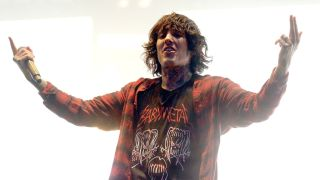 Bring Me The Horizon's Oli Sykes onstage