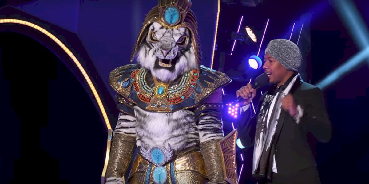 The Masked Singer The White Tiger Rob Gronkowski Nick Cannon Fox