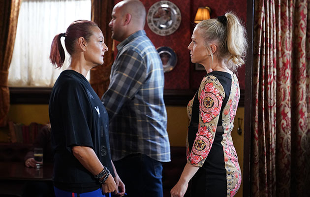 EastEnders spoilers: Tina Carter is shocked at Linda's actions