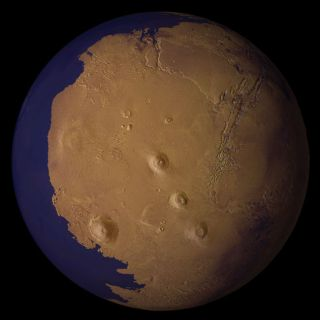 Mystery Solved: Mars Had Large Oceans
