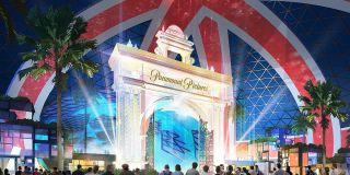 The London Resort concept art