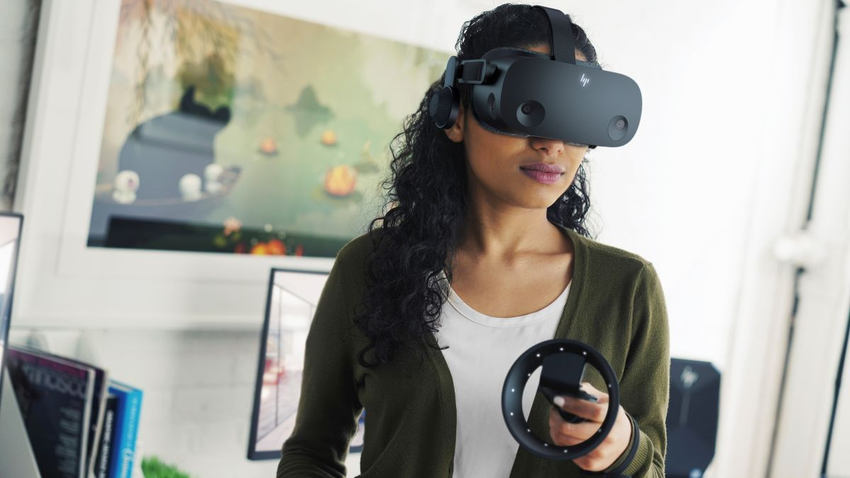 The Valve Index gets checked by this HP VR headset with better specs - TechRadar South Africa