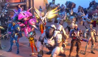 The cast of Overwatch