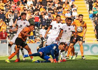 Hull City v AFC Bournemouth – Sky Bet Championship – MKM Stadium