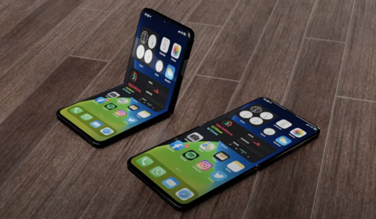 A concept video of how a folding iPhone might look