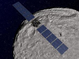 Dawn Orbiting Vesta