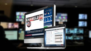 Bannister Lake's Chameleon NDI player reads multiple data sources, including news, weather, sports, traffic, social media, and financial data content, allowing users to edit, moderate, and customize their data.