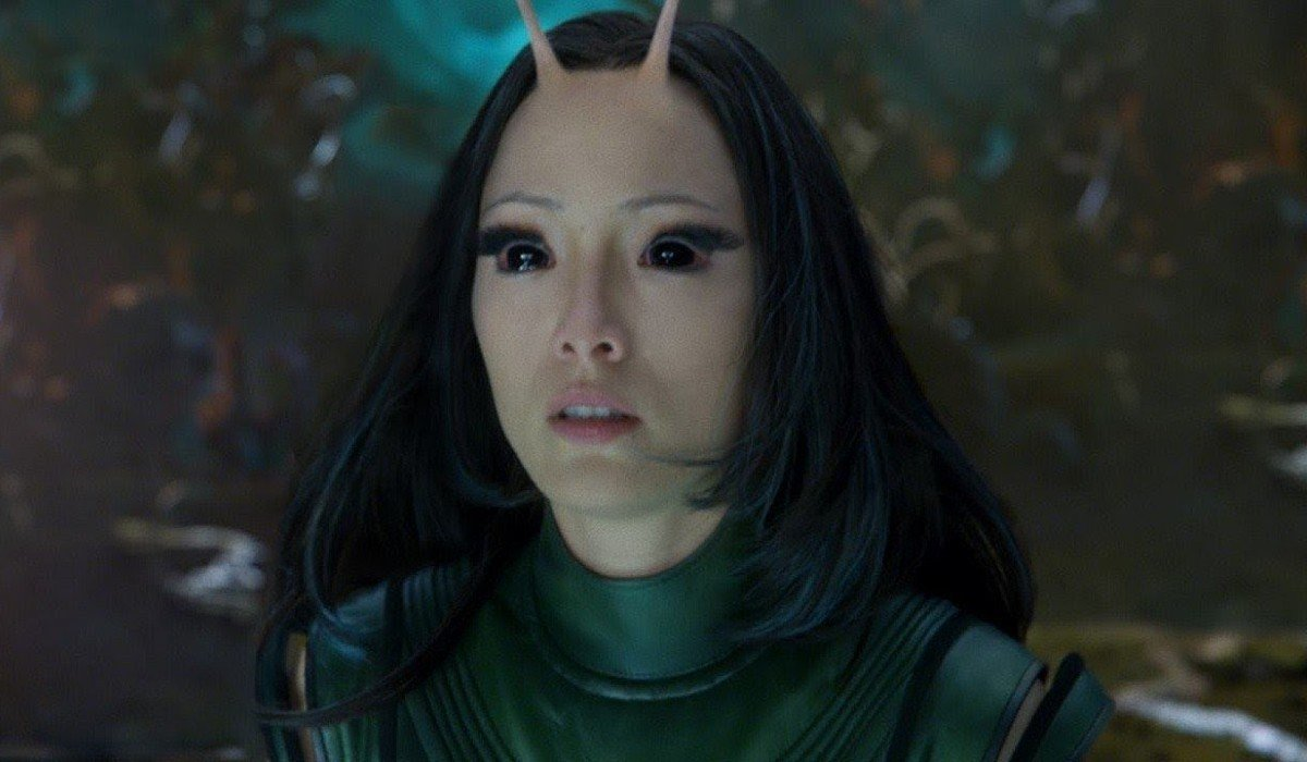 Mantis looking shocked Guardians of the Galaxy 2