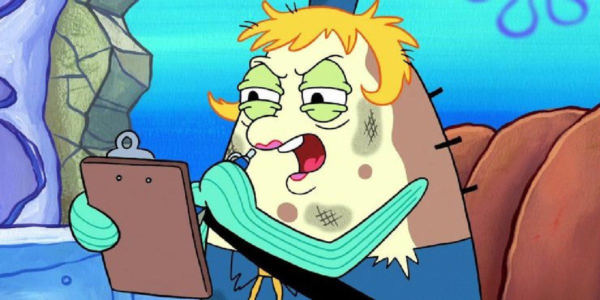 Mrs. Puff in Spongebob Squarepants