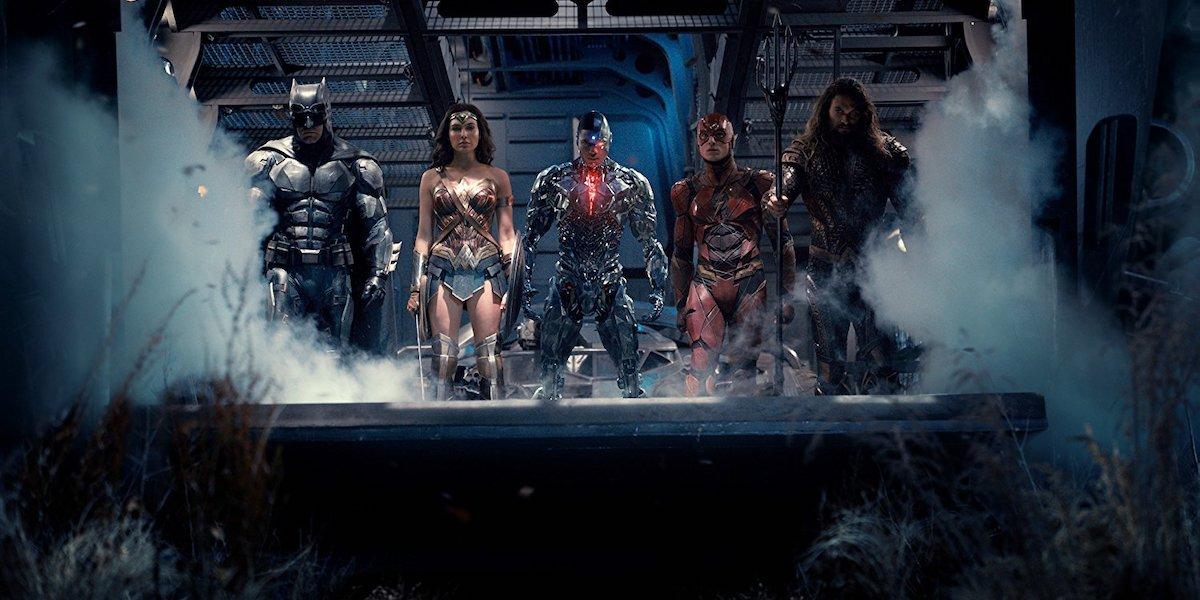 Justice league DCEU members