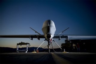 MQ-9 Reaper at Creech Air Force Base